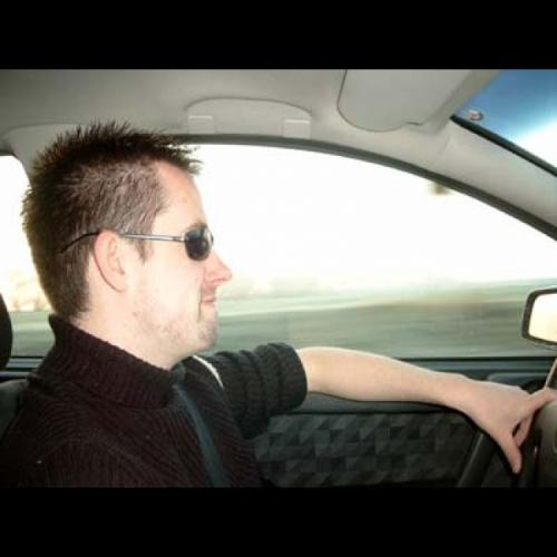 Der Fahrer...