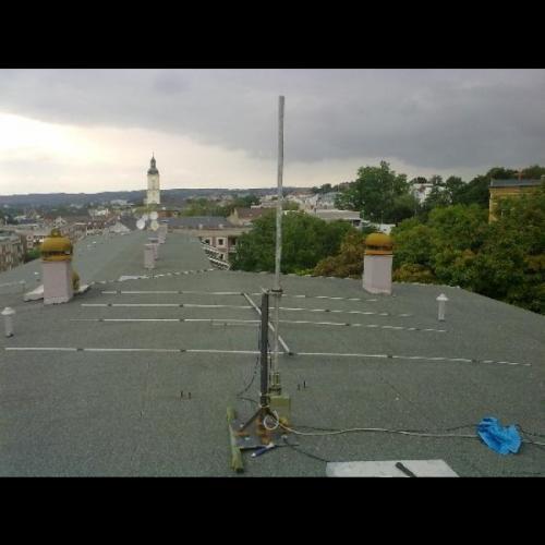 Antennenaufbau